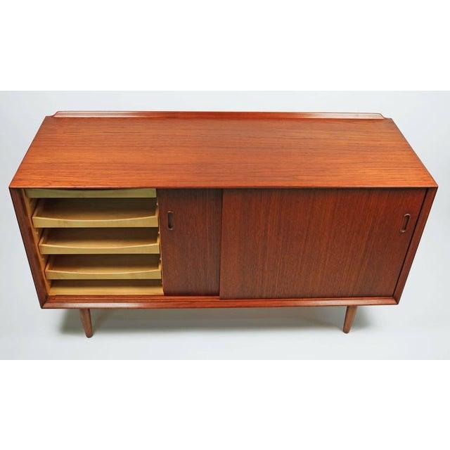 Arne Vodder Danish Modern Teak Cabinet for Sibast For Sale In Dallas - Image 6 of 7