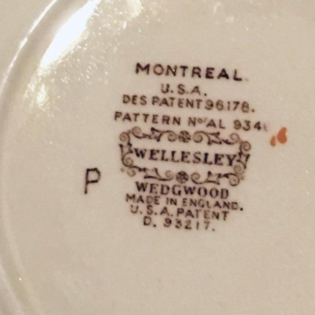 Ceramic 1940s Vintage Wedgwood Montreal Bone China Tea Set of 12 For Sale - Image 7 of 13