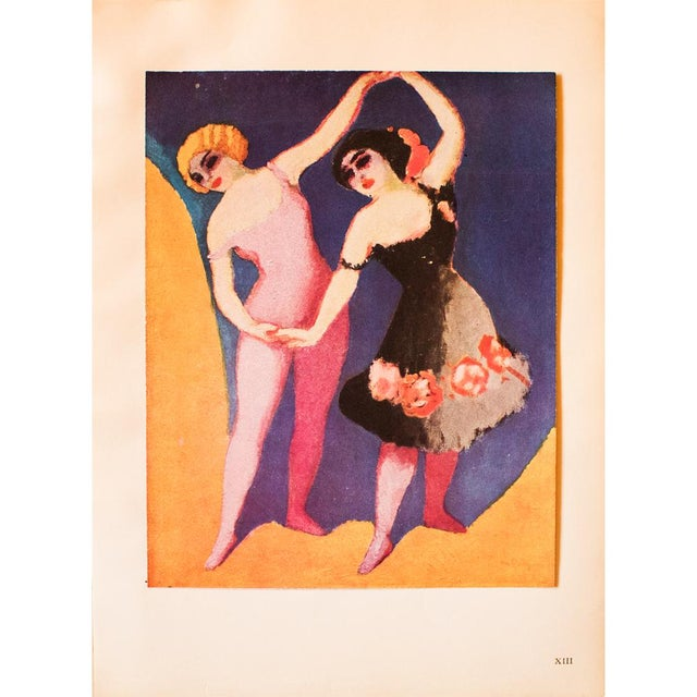 """Lithograph 1948 Kees Van Dongen Original Period Lithograph """"The Dancers"""" For Sale - Image 7 of 8"""