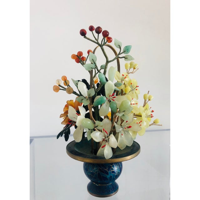 1940s 1940s Vintage Chinese Mineral Tree Model For Sale - Image 5 of 11