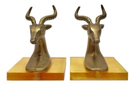 Image of Lucite Bookends