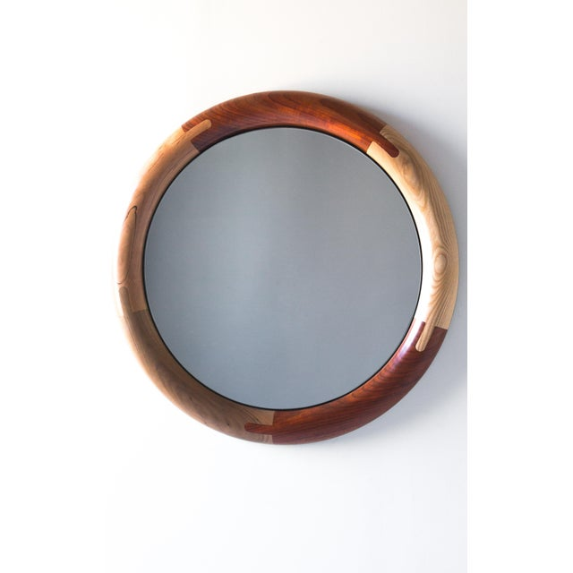 Birnam Wood Studio Halo Round Birnam Wood Studio Mirror For Sale - Image 4 of 10