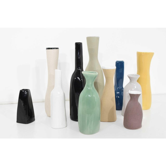 1990s Collection of Vases by Luna Garcia - Set of 11 For Sale - Image 5 of 10