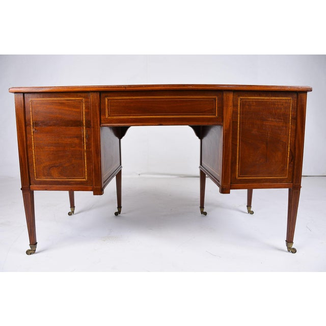 Antique Edwards & Roberts English-Style Desk - Image 10 of 11
