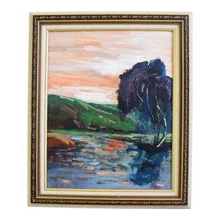 Juan Pepe Guzman Camarillo California Landscape Seascape Oil Painting For Sale