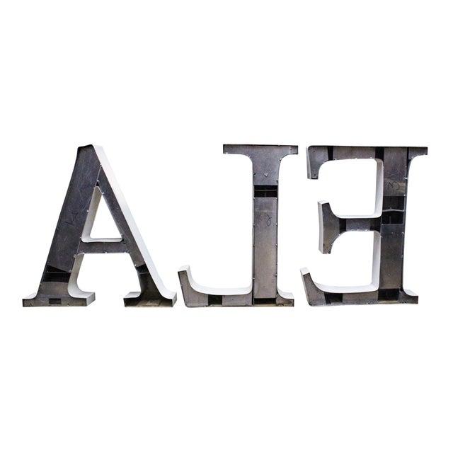 Vintage Ale Sign Letters - Image 3 of 3