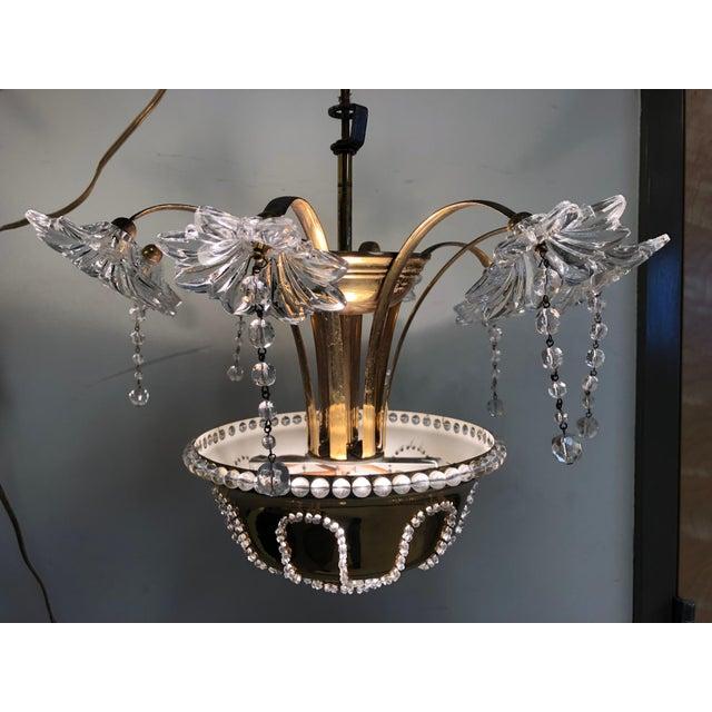 Italian Italian Murano Glass Chandelier For Sale - Image 3 of 6