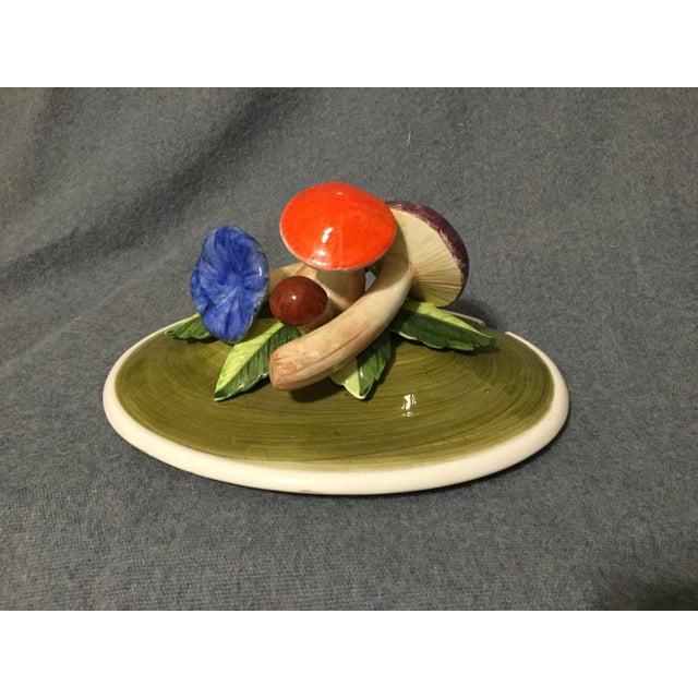 Vintage Majolica Mushroom Soup Tureen For Sale - Image 11 of 13