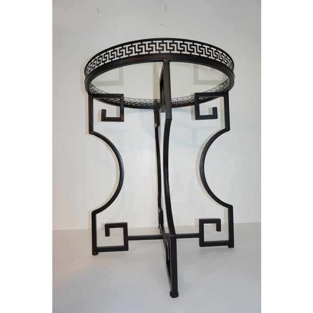 Neoclassical Wrought Iron Guerdon in the Style of Salterini For Sale In West Palm - Image 6 of 10