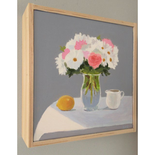French Bouquet, Lemon and Creamer by Anne Carrozza Remick For Sale - Image 3 of 6