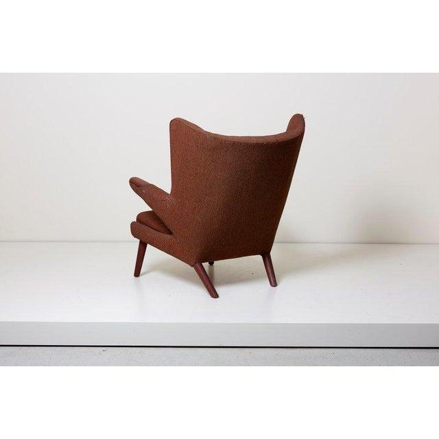 Hans Wegner Hans J. Wegner Papa Bear Chair For Sale - Image 4 of 12