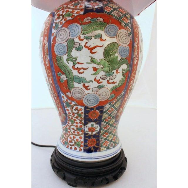 19th Century Imari Vase As A Lamp Chairish