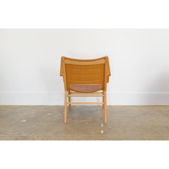Fritz Hansen Ax Lounge Chair by Peter Hvidt & Orly Mølgaard-Nielsen, 1947 For Sale - Image 4 of 8