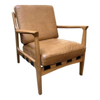 Four Hands Silas Chair-Patina Copper For Sale