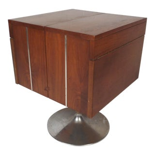Vintage Mini Swivel Bar by Lane Furniture For Sale