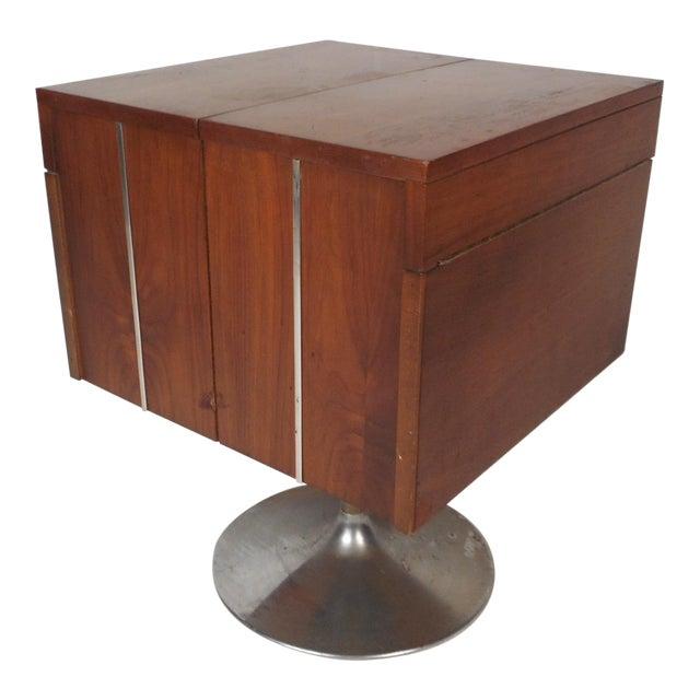 Vintage Mini Swivel Bar By Lane Furniture Chairish