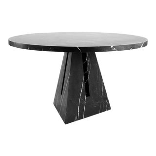 Portal Dining Table in Marble by APPARATUS For Sale