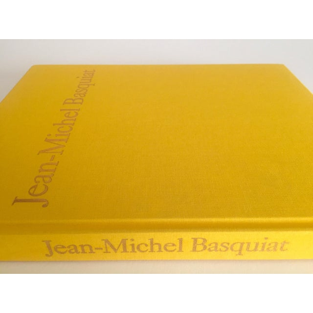 Jean Michel Basquiat Jean Michel Basquiat Rare 1st Edtn Vintage 1992 Iconic Whitney Retrospective Exhibition Collector's Hardcover Art Book For Sale - Image 4 of 13