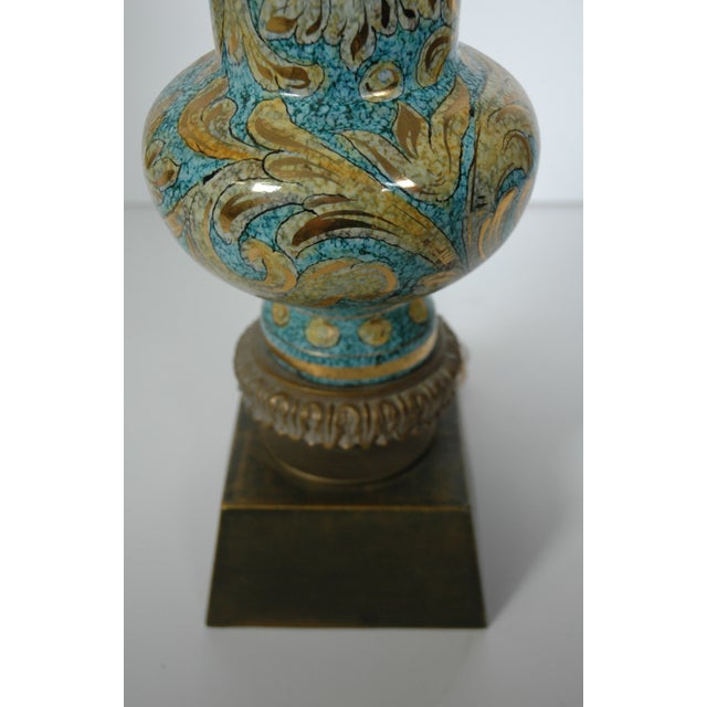 Blue Porcelain Lamp - Image 5 of 5