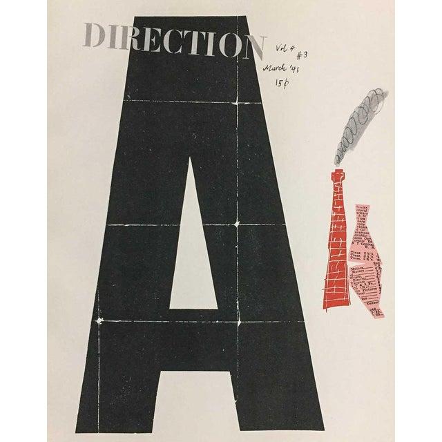 "Abstract Paul Rand Original Serigraph ""Avante-Garde Design"" Framed Print For Sale - Image 3 of 5"
