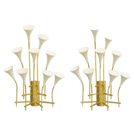 Image of Cream Sconces and Wall Lamps