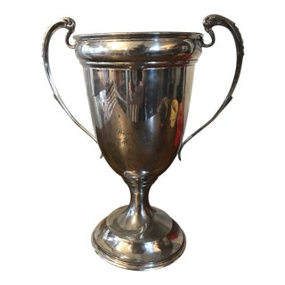 1927 English Traditional Sterling Trophy Cup For Sale