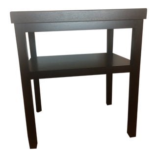 Christian Liaigre at Holly Hunt Macassar Ebony Tray Top Side Table For Sale