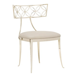 Caracole Modern Royal Klismos Accent Chair For Sale