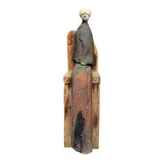 Brutalist Pottery Sculpture For Sale