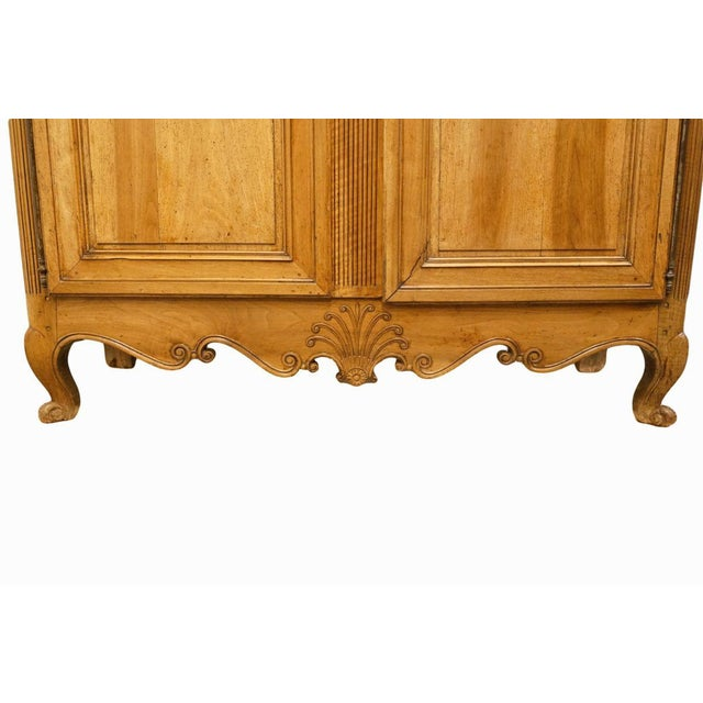 """Late 19th Century 1800's Louis XVI 66"""" Armoire/Wardrobe For Sale - Image 5 of 13"""