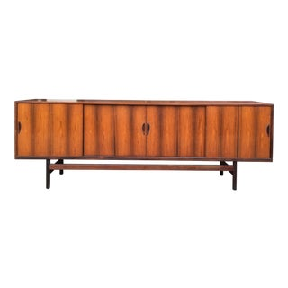 1960s Vintage Danish Rosewood Credenza For Sale