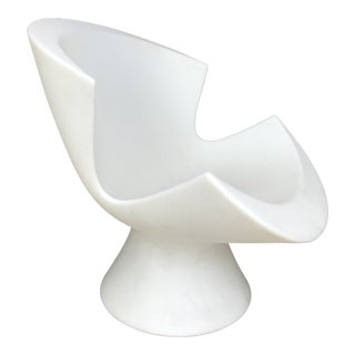 4/Avail Karim Rashid White Kite Chair For Sale