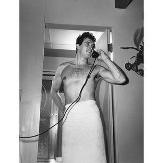 "1952 Sid Avery ""Rock Hudson at Home"" Photograph For Sale"