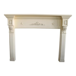 Federal Style Fireplace Mantel