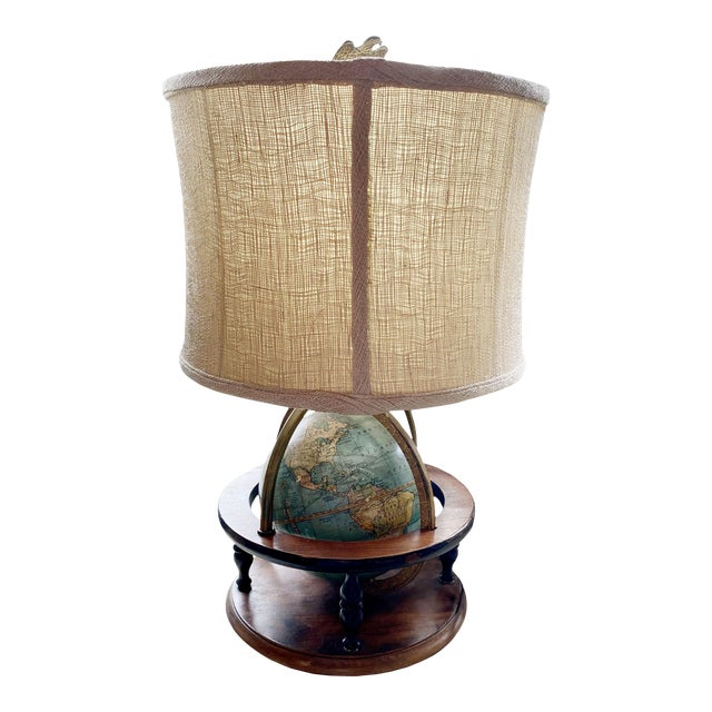 Antique Globe Lamp For Sale