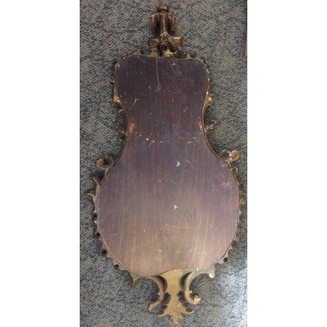19th Century Italian Gilt Wood Mirror For Sale - Image 4 of 6