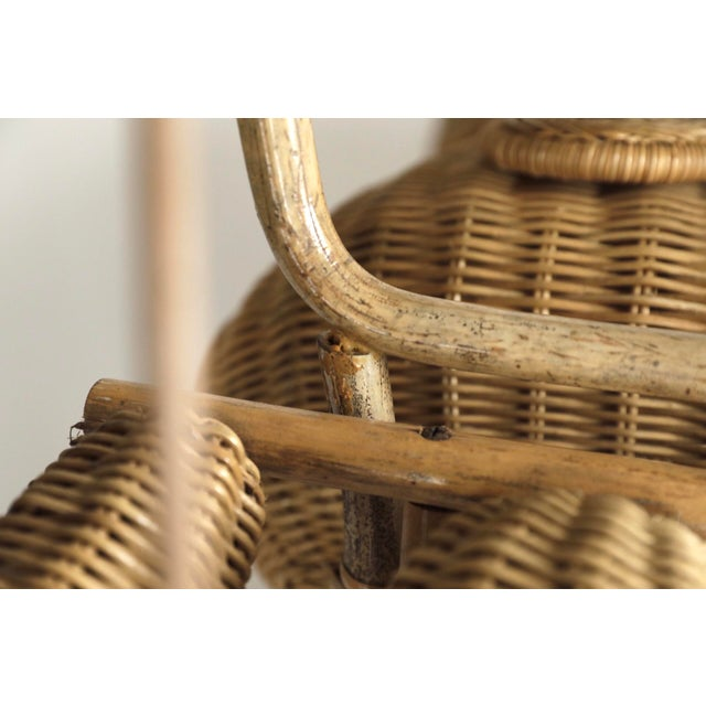 Tom Dixon Rattan Motorcycle Sculpture For Sale - Image 11 of 13