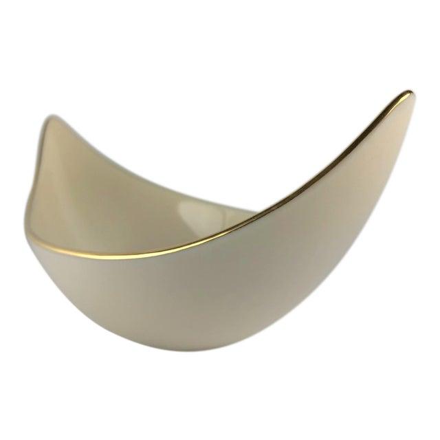 "Lenox ""Weatherly"" Pattern Asymmetrical Serving Bowl For Sale"