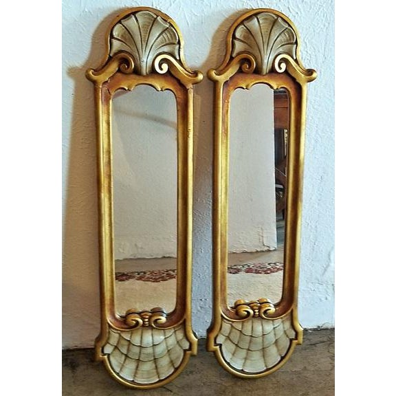 Early 20c Pair of Pier Mirrors by Thorvald Strom For Sale - Image 14 of 14