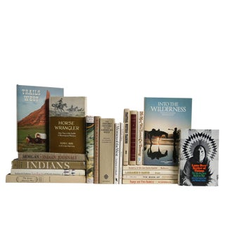 History Book Set: The American West, S/20 For Sale