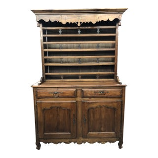 19th Century Louis XV Cherry Wood Vaisselier For Sale