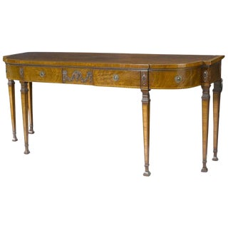 George III Style Mahogany Sideboard, 19th Century For Sale