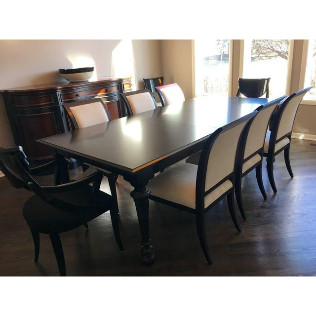 Bernhardt & Martha Stewart Wood Dining Table