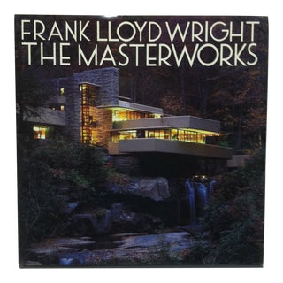 "Coffee Table Display Book ""Frank Lloyd Wright - the Masterworks"", 1993 For Sale"