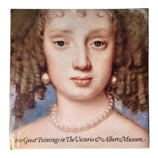 Victoria & Albert Museum-Art Book-1985-100 Paintings For Sale