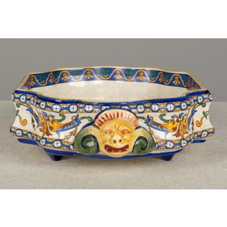 19th Century French Gien Faience Centerpiece Bowl Preview