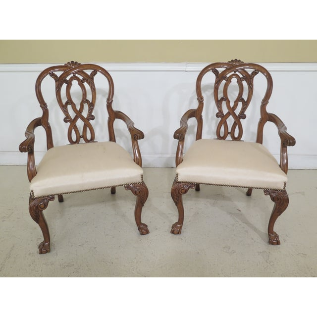 Set Of 8 Karges Georgian Style Ball & Claw Dining Room Chairs Age: Approx: 25 Years Old Details: Ball & Claw Feet Fine...