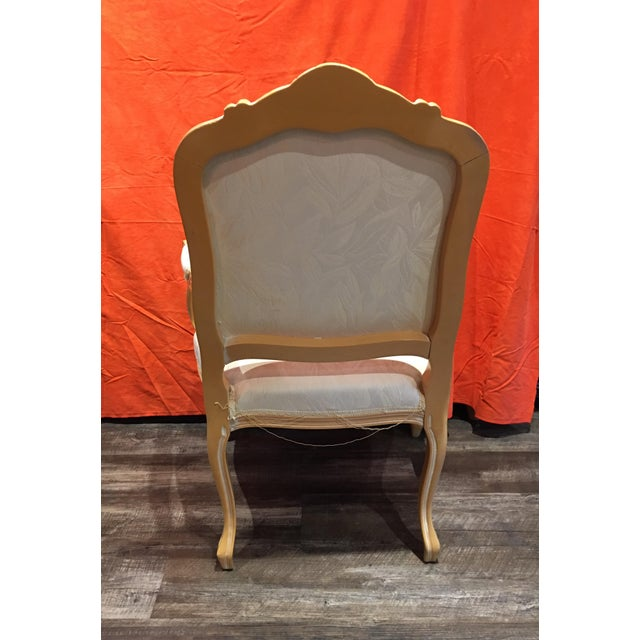 Louis XV Style Oak Wood Chairs - A Pair - Image 5 of 5