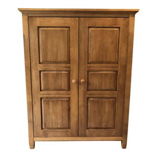 Ethan Allen Transitional Maple Amoire