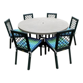 Miles Redd for Ballard Designs Outdoor Dining Set